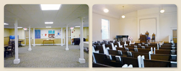 Renting the space of the Unitarian Church of Mansfield, MA