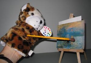 Leopard Monet